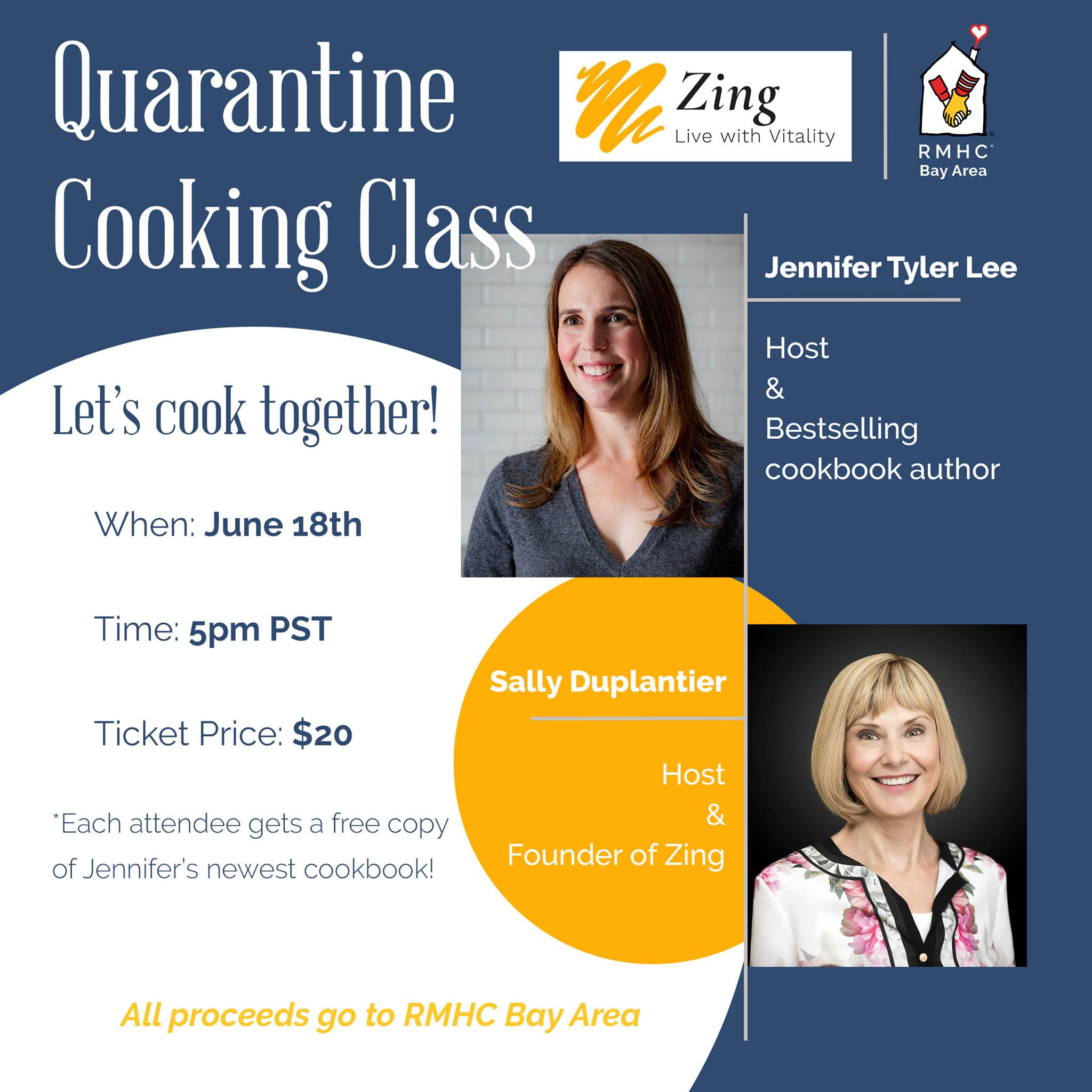 Click to sign up for a cooking class and support RMHC