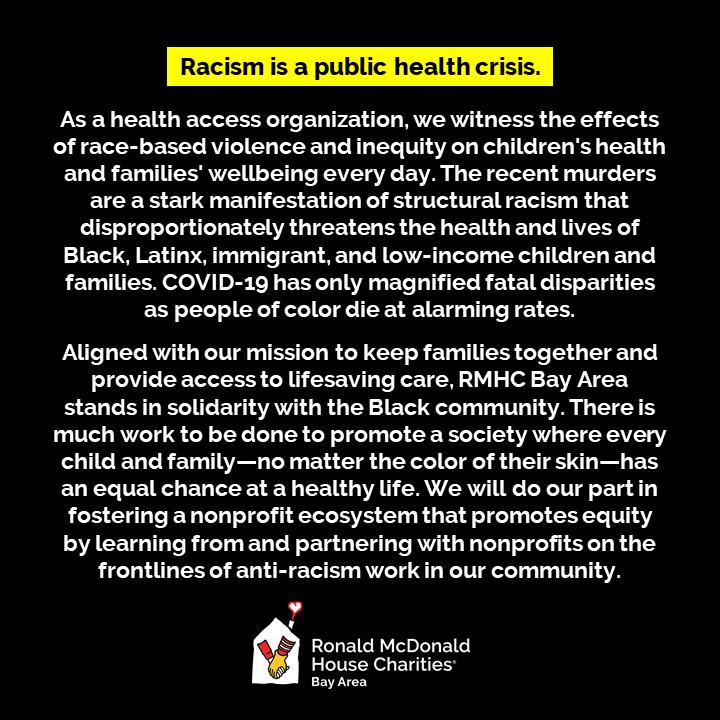 Racism is a public health crisis.