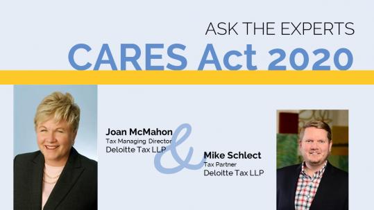 CARES Act 2020 Tax Experts