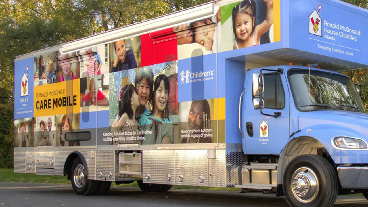 Ronald McDonald Care Mobile