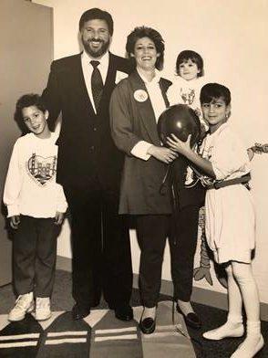 Photo of the Lamson family at RMH San Francisco opening