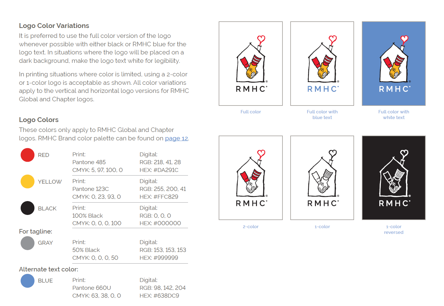 rmhc logo guidelines